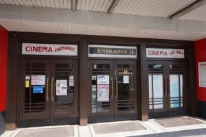 Roxy Cinema and Laurel & Hardy Museum entrances