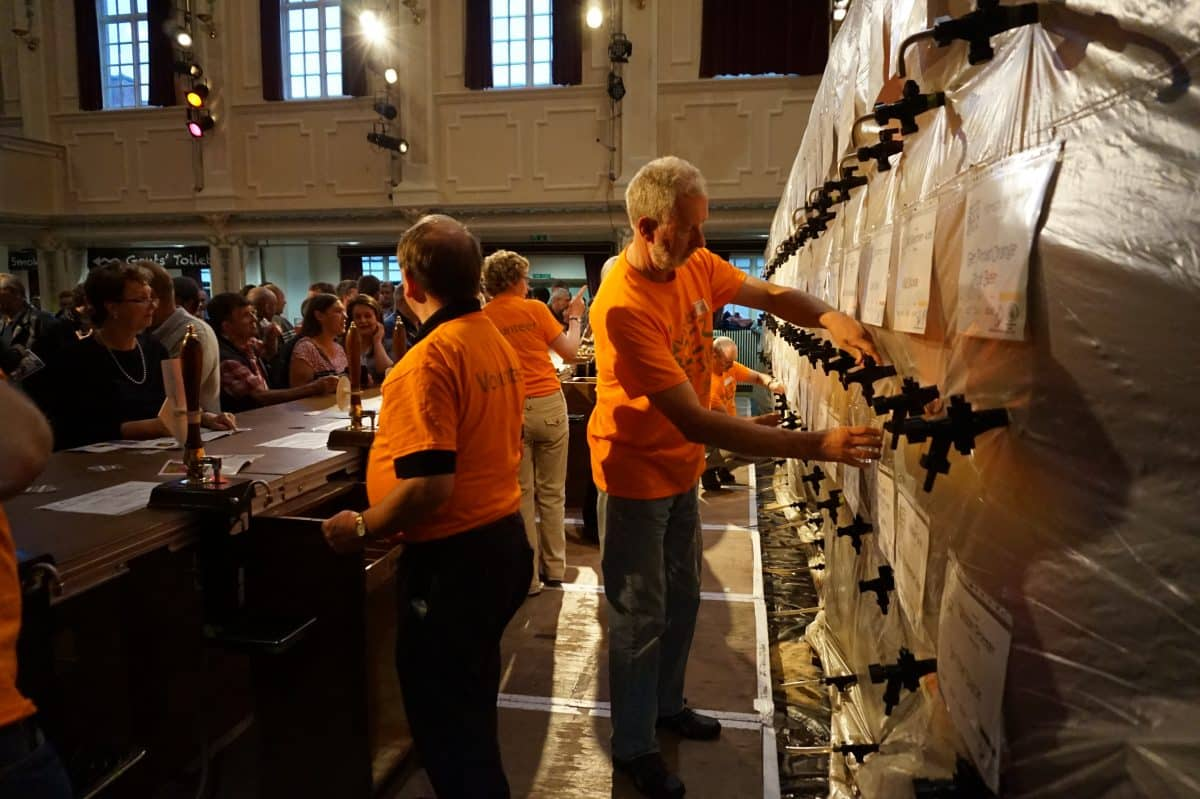 Ulverston CAMRA Beer Festival in the Coronation Hall