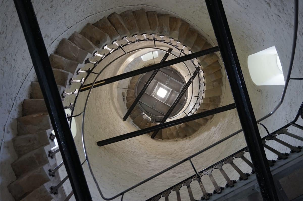 Interior of Sir John Barrow Monument
