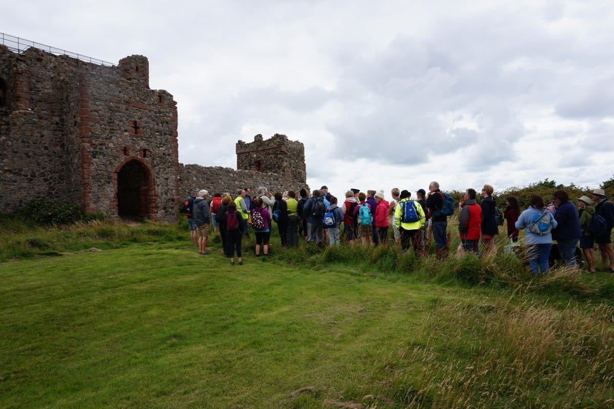 Guided tour on Piel Island
