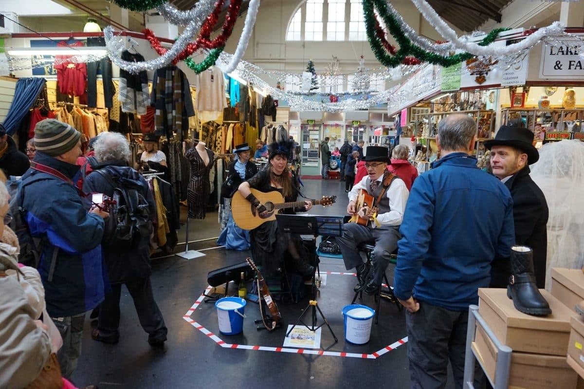 Live music at Ulverston Indoor Market