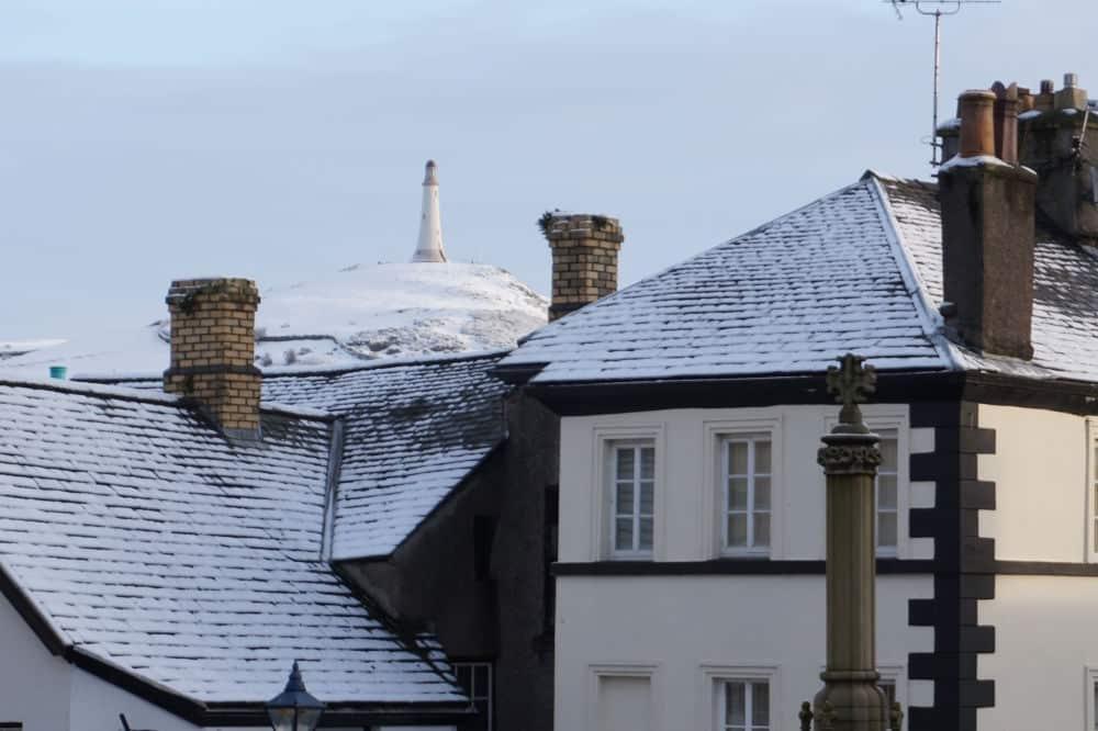 Ulverston in the snow