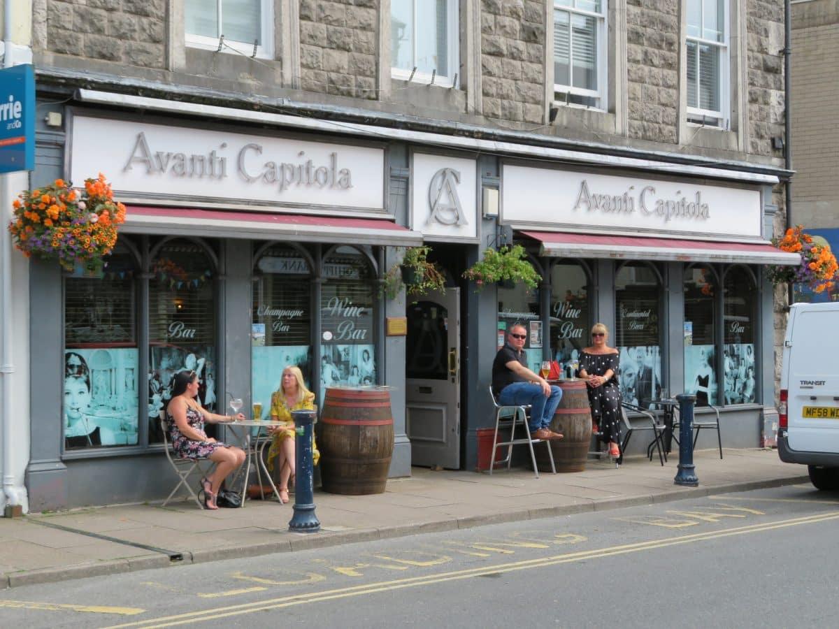 Avanti Capitola Wine Bar Ulverston King Street