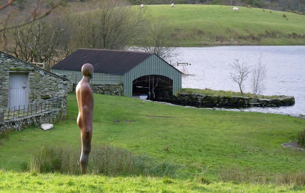 Gormley statue at Nibthwaite