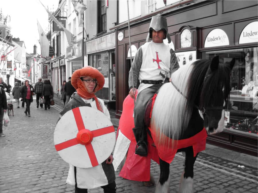 St George's Day in Ulverston